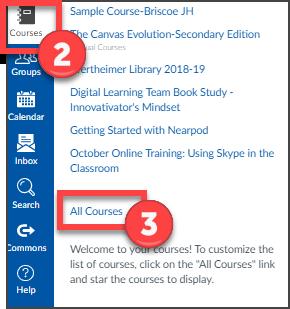 Favorite Courses 1
