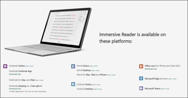 immersiver reader