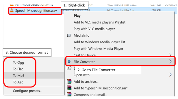 convert media file