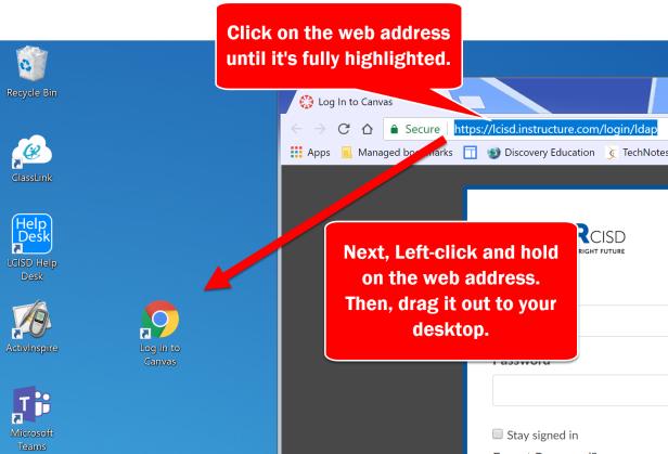 WebLink to Desktop I