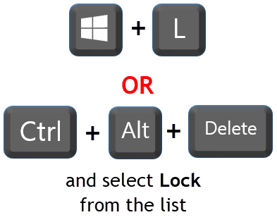 Lock Shortcut and Ctrl Alt Delete